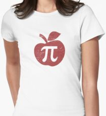 Apple Pie Pi Day Womens Fitted T-Shirt