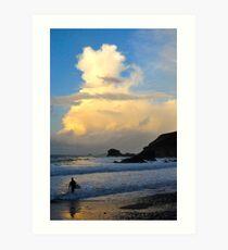 Cornish Autumn Evening Art Print