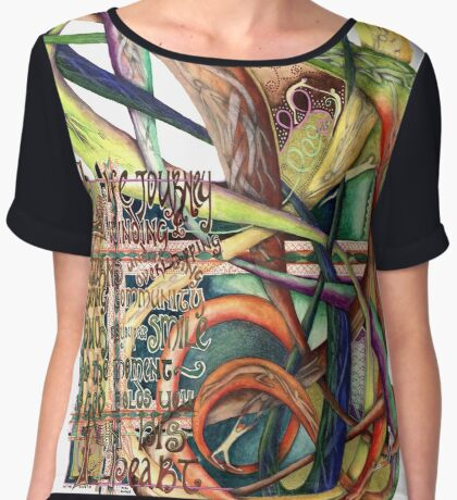 Life Journey Women's Chiffon Top