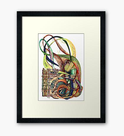 Life Journey Framed Print