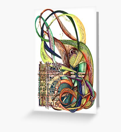 Life Journey Greeting Card