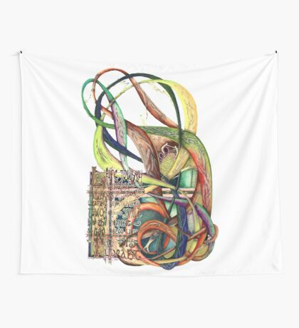 Life Journey Wall Tapestry
