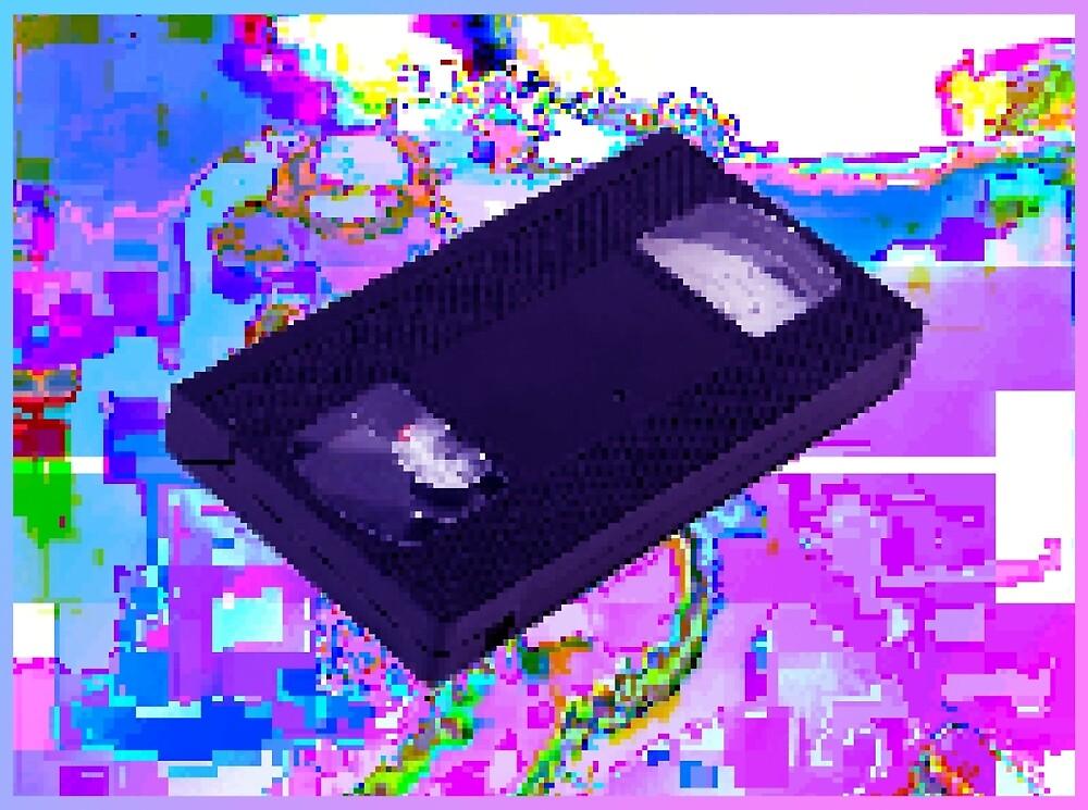 VHS GLITCH VAPORWAVE by FalcoSpankz