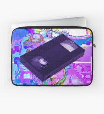 VHS GLITCH VAPORWAVE Laptop Sleeve
