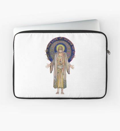 Life in Christ Laptop Sleeve