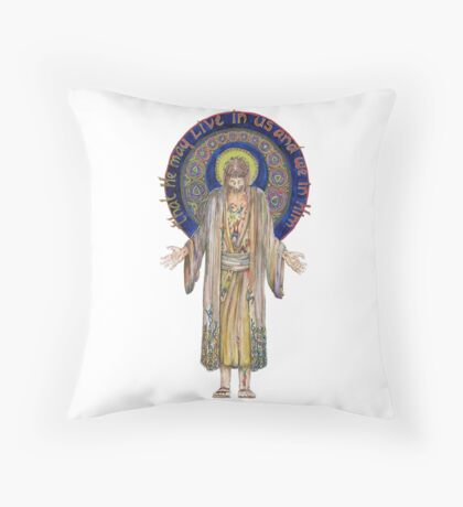 Life in Christ Throw Pillow