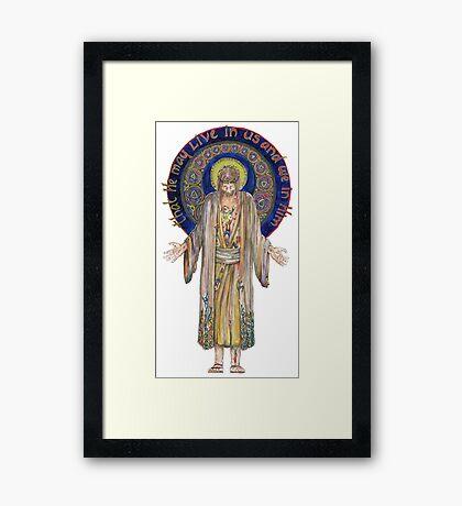 Life in Christ Framed Print