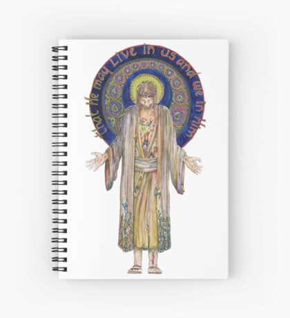 Life in Christ Spiral Notebook