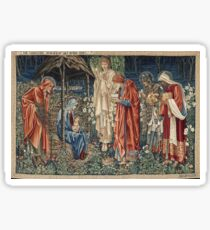 Edward Burne - Jones - The Adoration Of The Magi Sticker