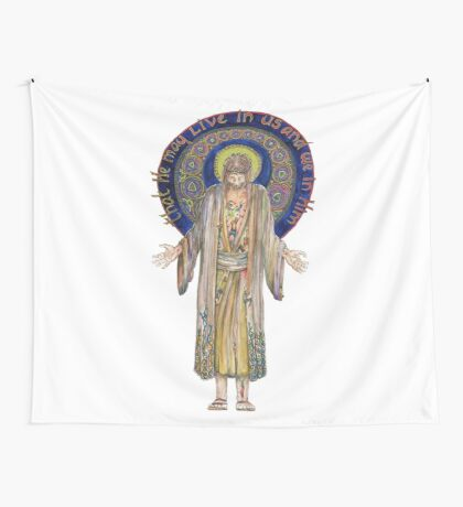 Life in Christ Wall Tapestry