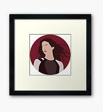 Katniss Everdeen Illustration  Framed Print