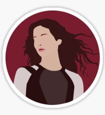 Katniss Everdeen Illustration  Sticker