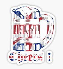 English Beer Glass Sticker