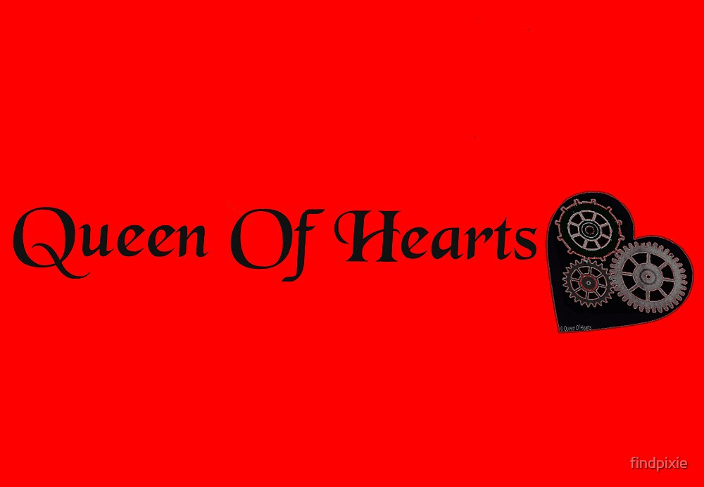 queen of hearts by findpixie