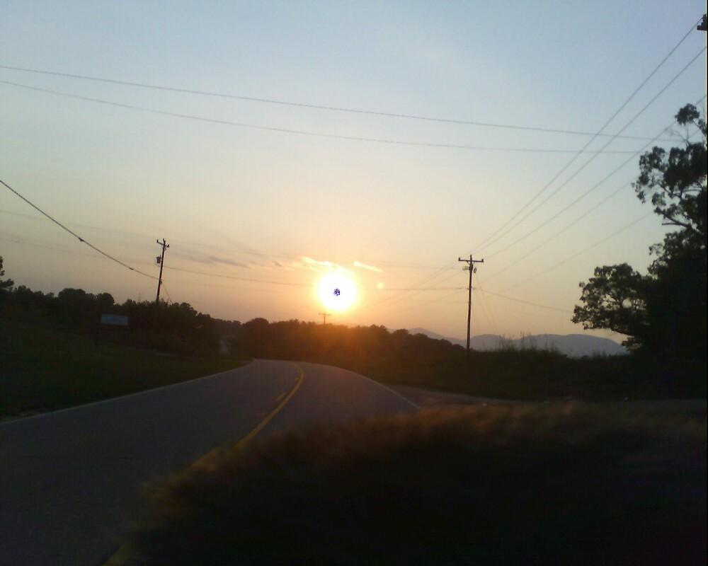 Eastern Sunset by LilRebel