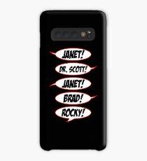 Funda/vinilo para Samsung Galaxy ¡Janet! Dr. Scott! ¡Janet! ¡Puntilla! ¡Rocoso!