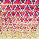 Vom rosa zum gelben Muster von josemanuelerre