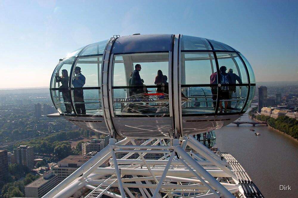 The London Eye by Dirk