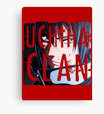 Uchiha Clan Logo Canvas Print