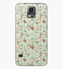 Kittea Time Case/Skin for Samsung Galaxy