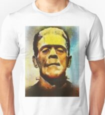 Boris Karloff, Vintage Hollywood Actor as Frankenstein Unisex T-Shirt