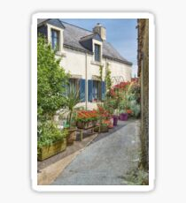 Rochefort-en-Terre, Brittany, France Sticker