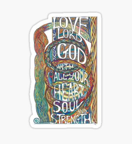 Love The Lord Sticker