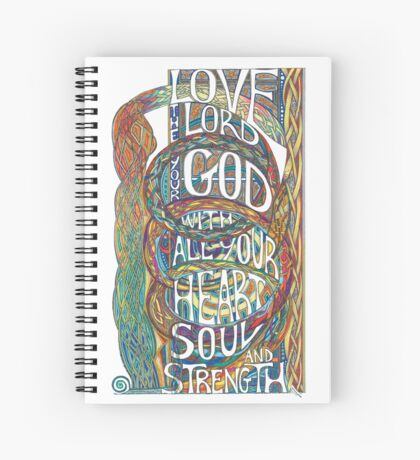 Love The Lord Spiral Notebook
