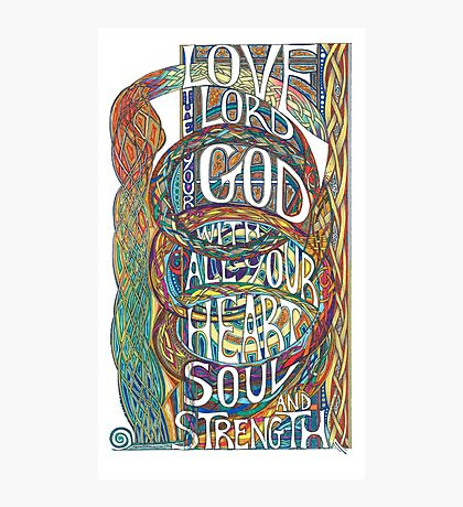 Love The Lord Photographic Print