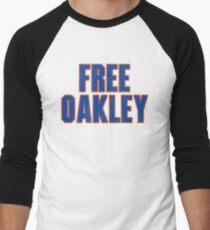 Free Charles Oakley - New York Men's Baseball ¾ T-Shirt