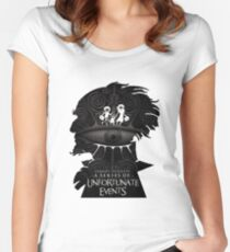 A Series Of Unfortunate Events Women's Fitted Scoop T-Shirt