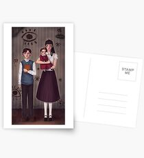 A Series of Unfortunate Events ~The Baudelaires Orphans ! Postcards