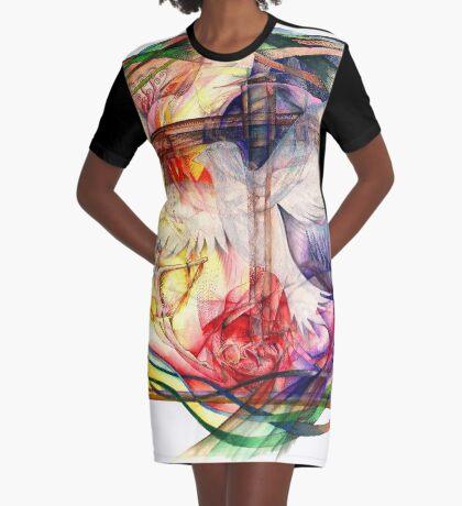 Lux Aeterna (Light Eternal) Graphic T-Shirt Dress