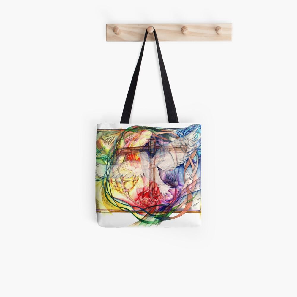 Lux Aeterna (Licht ewig) Tote Bag
