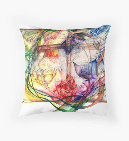 Lux Aeterna (Light Eternal) Throw Pillow
