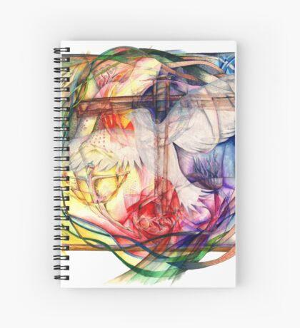 Lux Aeterna (Light Eternal) Spiral Notebook