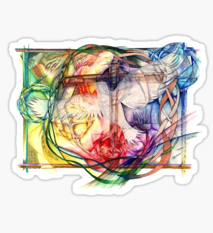 Lux Aeterna (Light Eternal) Sticker
