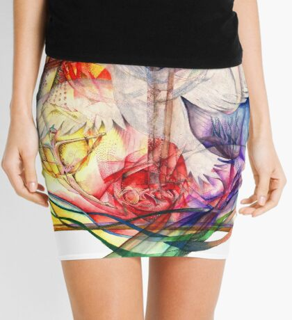 Lux Aeterna (Light Eternal) Mini Skirt