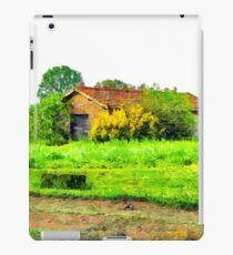 Farm building iPad Case/Skin