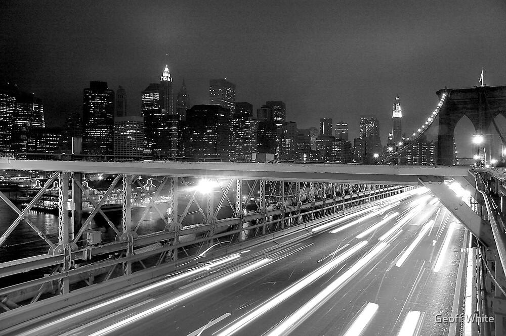 Brooklyn Bridge by Geoff White