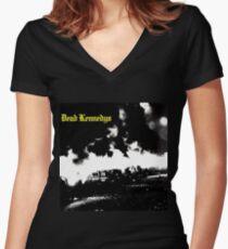 Dead Kennedys - Fresh Fruit for Rotting Vegetables Women's Fitted V-Neck T-Shirt