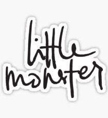 Little Monster - Handwritten Casual Design Sticker