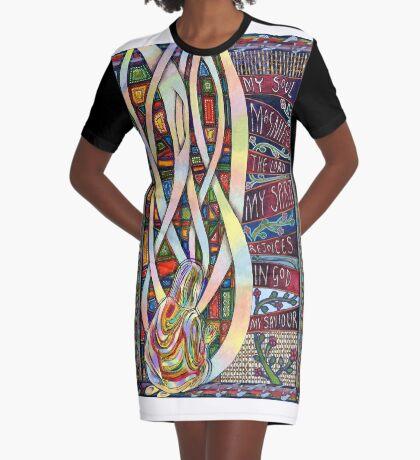 Magnificat Graphic T-Shirt Dress