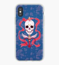 Moon Skull iPhone Case