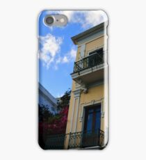 Old Buildings in Old San Juan iPhone Case/Skin