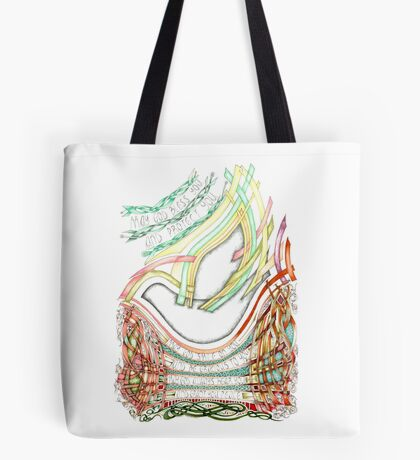 May God Smile Tote Bag