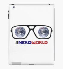 Nerd World Glasses iPad Case/Skin