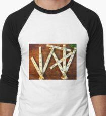 Ruler Men's Baseball ¾ T-Shirt