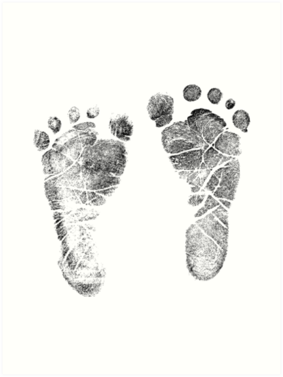 Quot Baby Footprints Adorable Baby Feet Perfect For New Baby