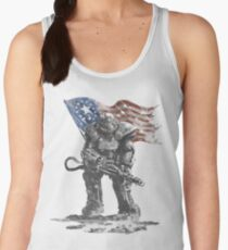 Fallout power armour suit Women's Tank Top